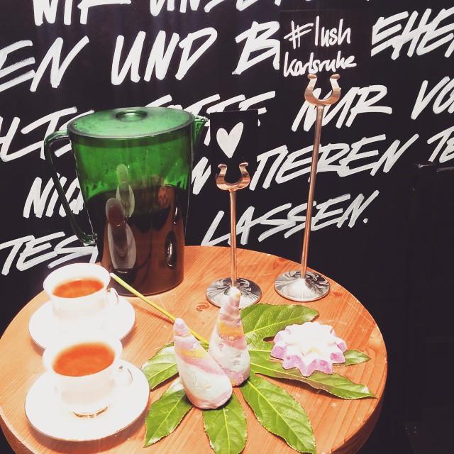 Vip Tour im Karlsruher Lush Shop