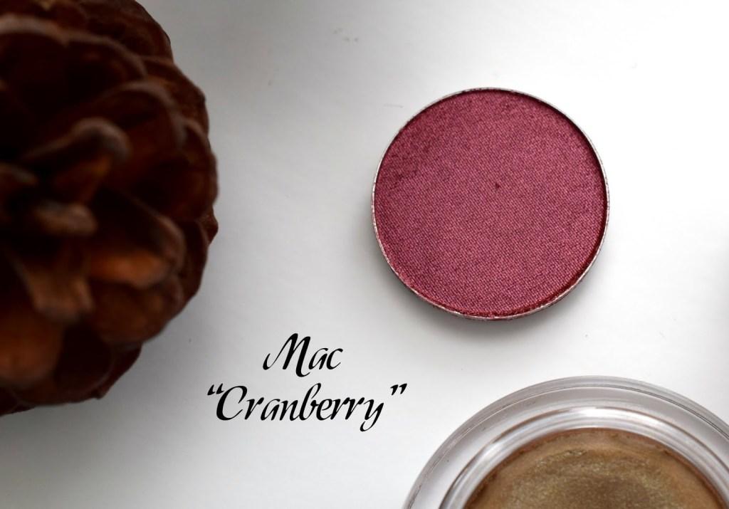 Meine Top 3 Herbst Lidschatten MAC Cranberry