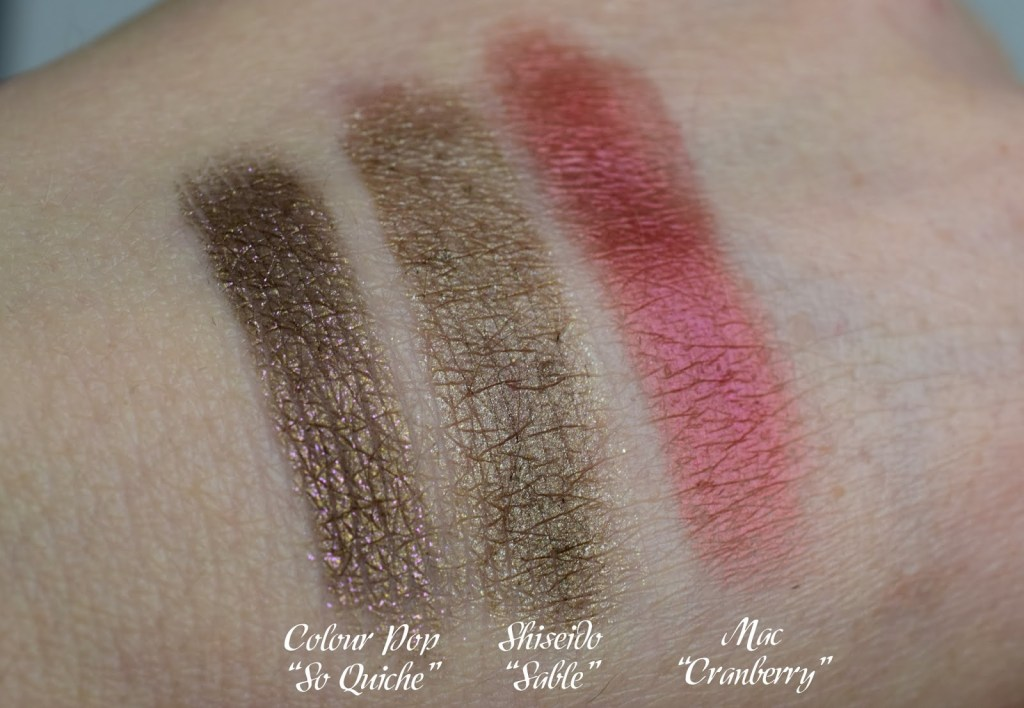Top 3 Herbstlidschatten Swatches