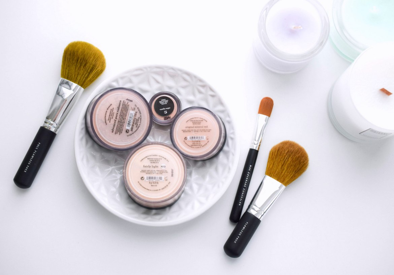 Bare Minerals Erfahrungen vier Produkte im Test für das Gesicht und natürlichen schnellen Tageslook