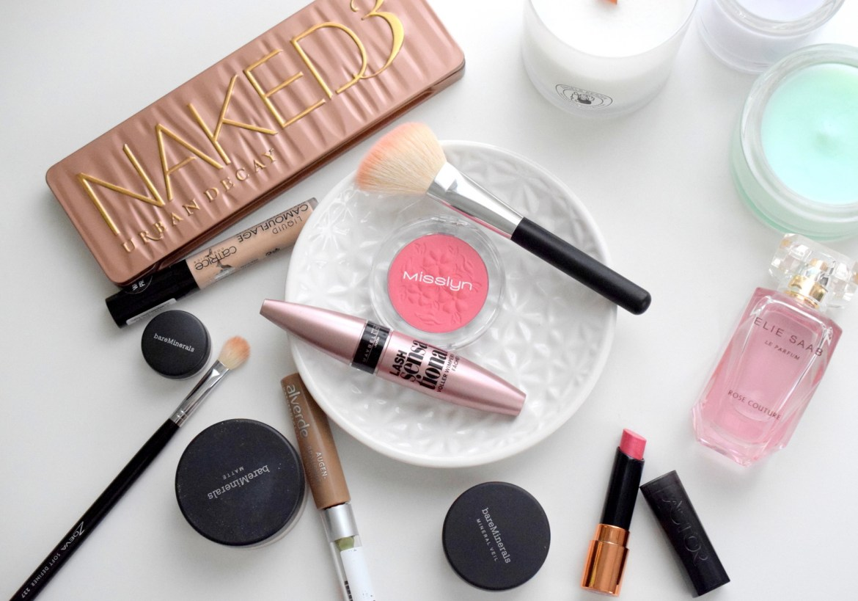 frühlingslook schminken produkte schnell einfach