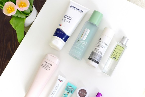 Beauty Favoriten im Mai mit Dermasence, Clinique, Paula's Choice und Shiseido