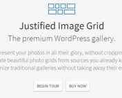 Plugin de WordPress Justified Image Gallery