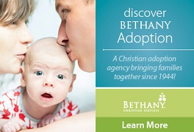 Bethany Christian Services - IAG Ad 275x187 to fit in sidebar