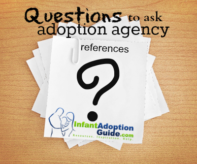 questions to ask adoption agency references