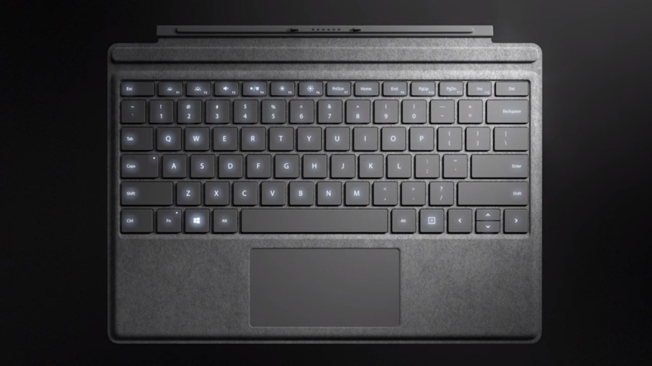 Microsoft Unveils New Signature Edition Surface Pro 3/4 Keyboard