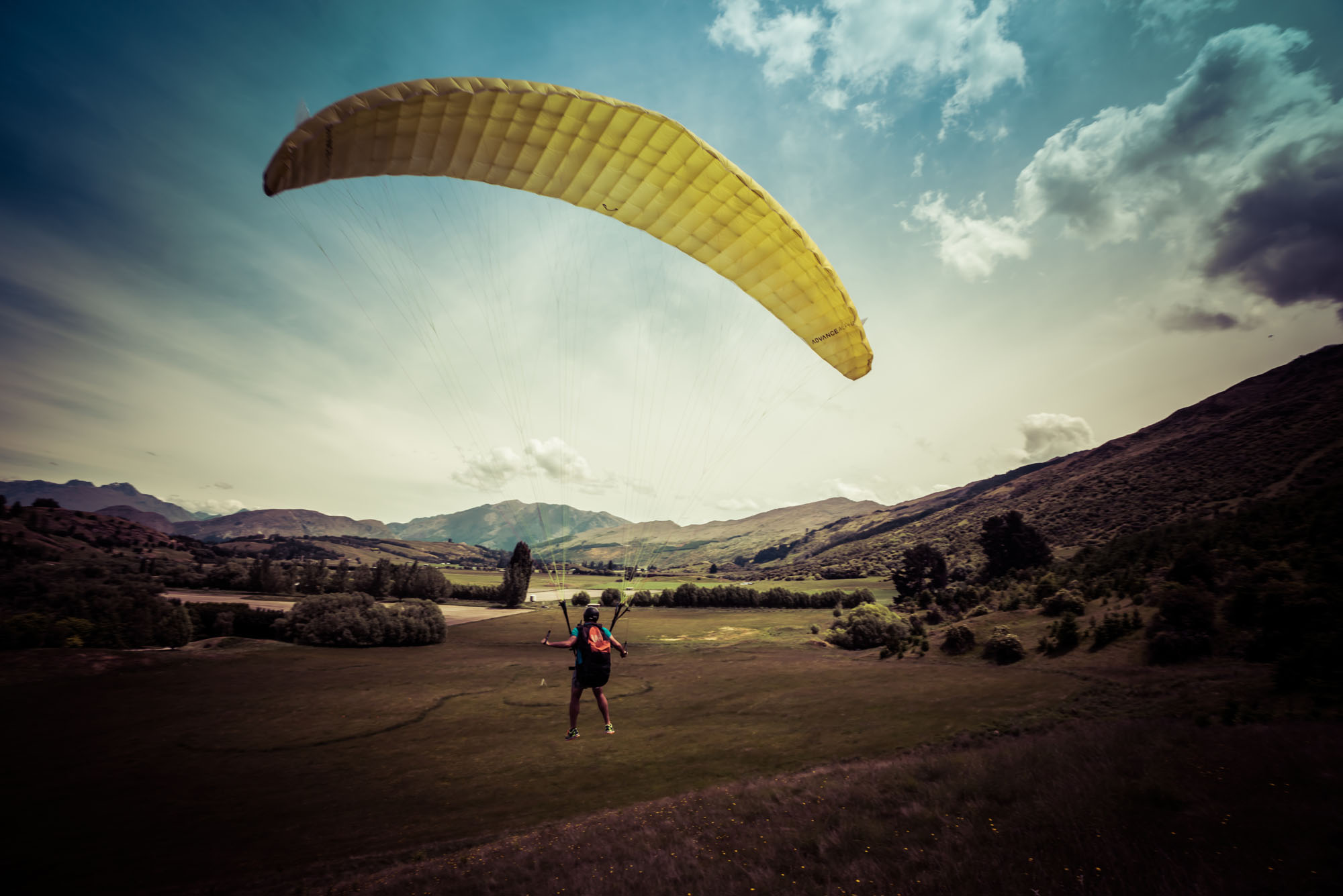 Intro Day Course - Infinity Paragliding 15