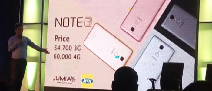 Infinix Note 3 Now on Sale on Jumia Nigeria