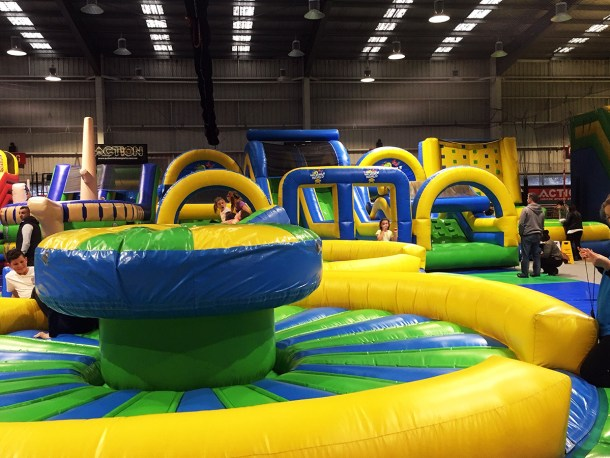 Note: Inflatables at venues may differ from images and are subject to change without notice.