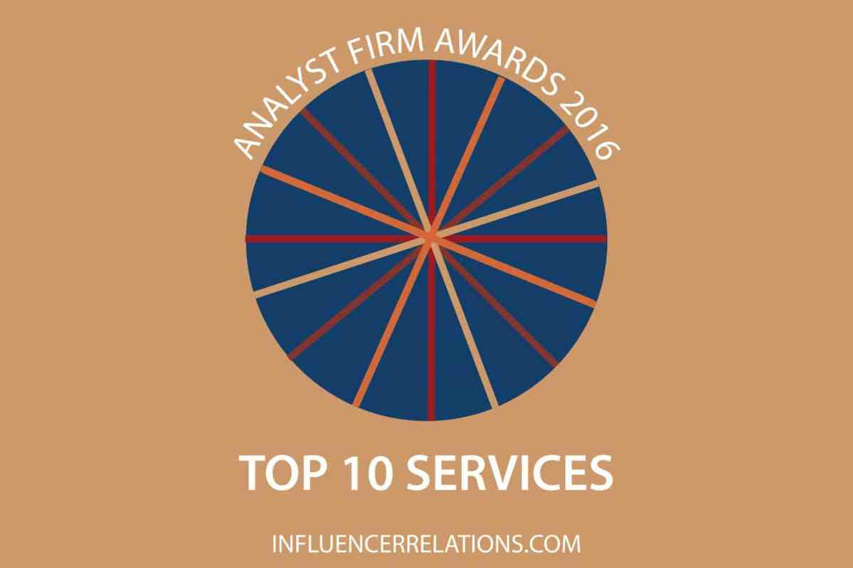 Gartner, HfS, Forrester & NelsonHall top 2016 Services Awards