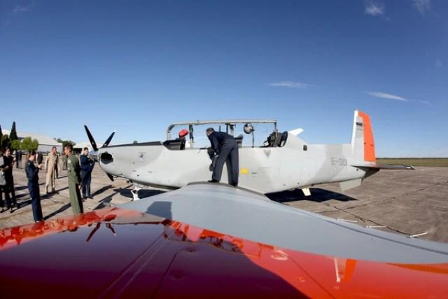 Los nuevos aviones de la flota de las FF.AA (Mario Sar)