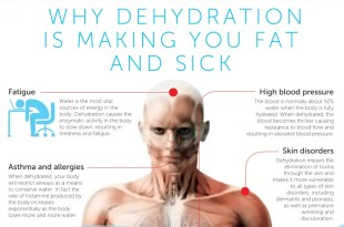 Why Dehydration Is Making You Fat And Sick