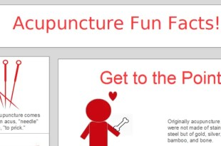 Acupuncture Fun Facts