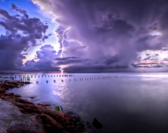 thunder lightning wallpaper