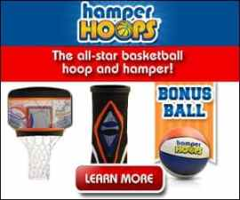 Hamper Hoops Wham-O Basketball Hoop Hamper
