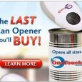 One Touch Can Opener Deluxe