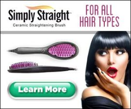 Simply Straight Ceramic Hair Straightening Br…