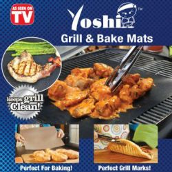 Yoshi Grill & Bake Grilling Mat Free Shipping