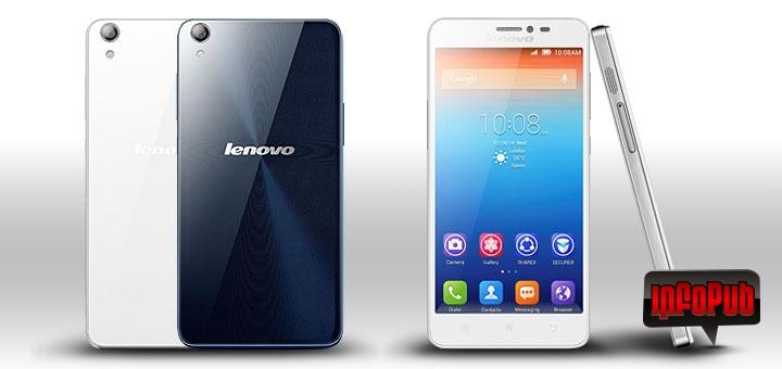 Telefon cu fata si spate din sticla Lenovo S850