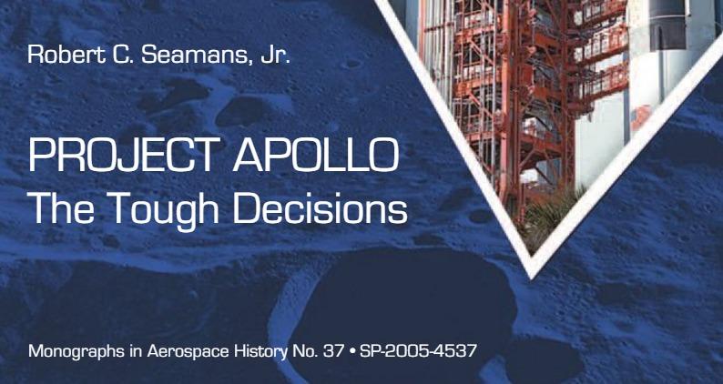 Libro. Project Apollo. The Tough Decisions. MAH-37