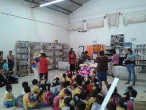 """Imagen tomada del Facebook de la """"Biblioteca Lazaro Cárdenas Del Río"""""""