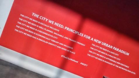La ciudad que necesitamos - #TheCityWeNeed principles