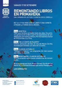 Afiche de difusión de la actividad