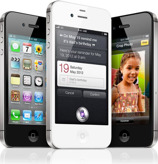 iPhone 4S - Imagem por Apple