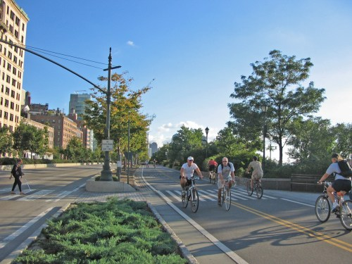 West Side bike path in New York City, from Stantec