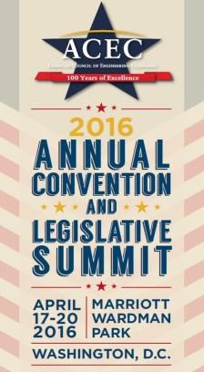 2016 ACEC Convention and Legislative Summit
