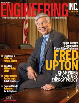 Engineering Inc. March/April 2016 Cover: Congressman Fred Upton