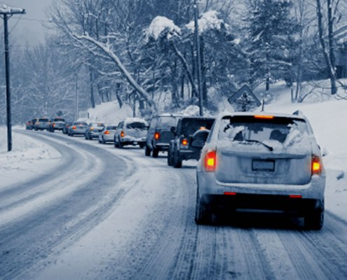 Young Drivers Winter Driving Website