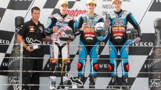 podio moto3 aragon