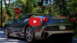 FERRARI CALIFORNIA VIDEO V8