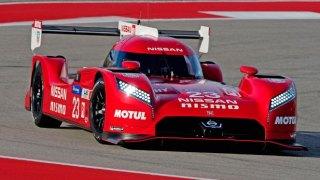 Nissan GT-R LM NISMO pre-season testing