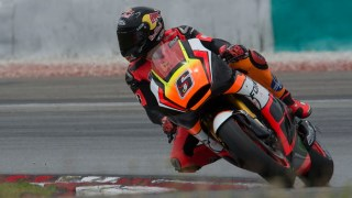 2015 Forward Racing .002 Test MotoGP Sepang 1