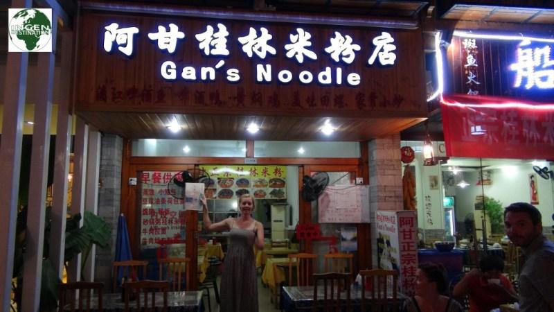 Vores favorit restaurant i Yangshuo
