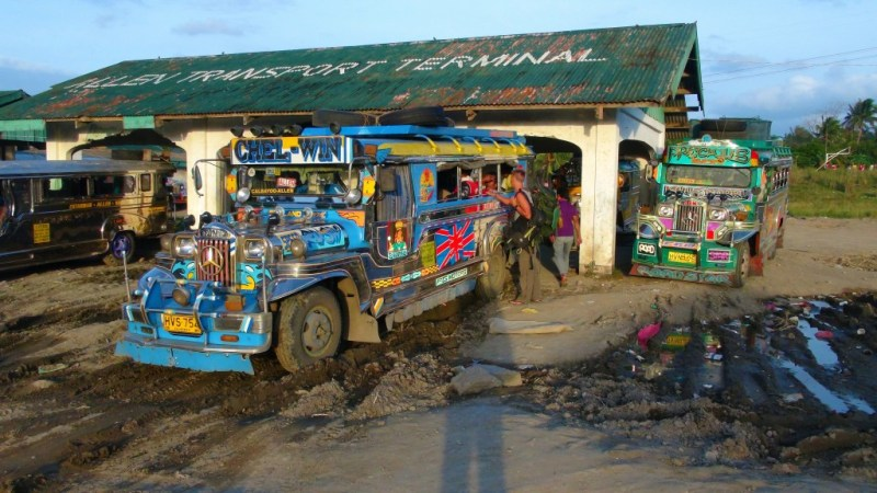 Busserne på Filippinerne, også kaldet Jeepney's