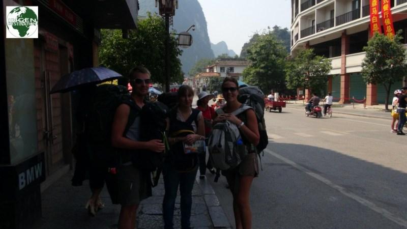Afgang mod Yangshuo