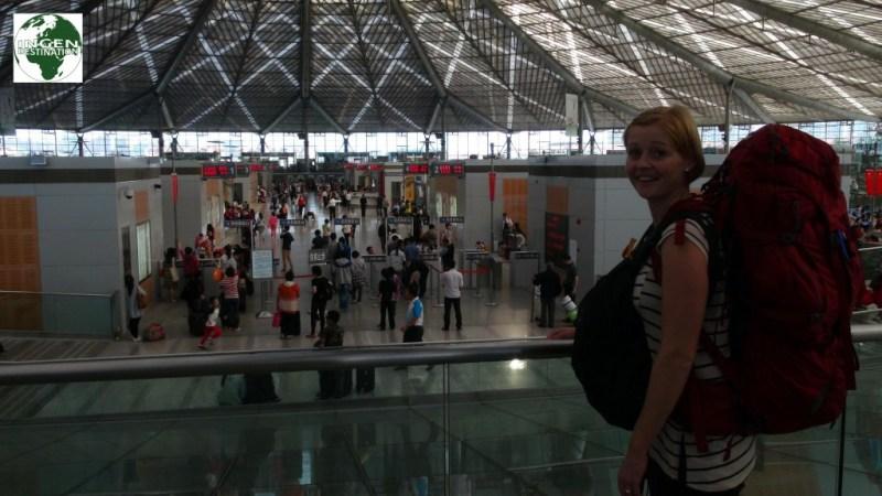 Afrejse mod Guilin fra Shanghai banegård