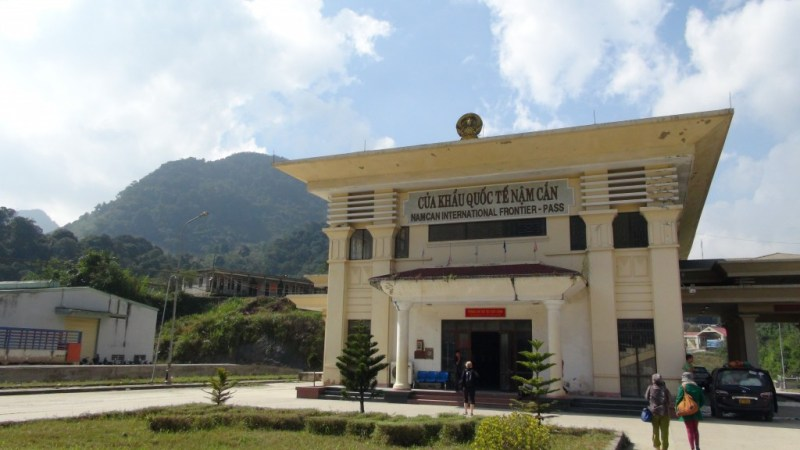 Grænsen mellem Vietnam og Laos