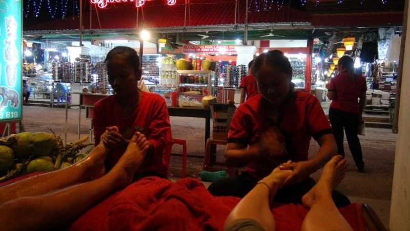 Fod massage Siem Reap