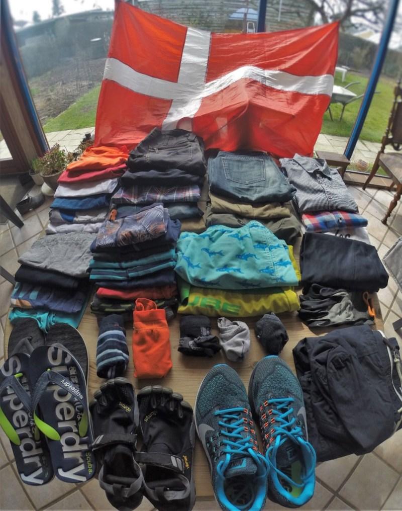 Her er hvad Erik ejer af sko og tøj