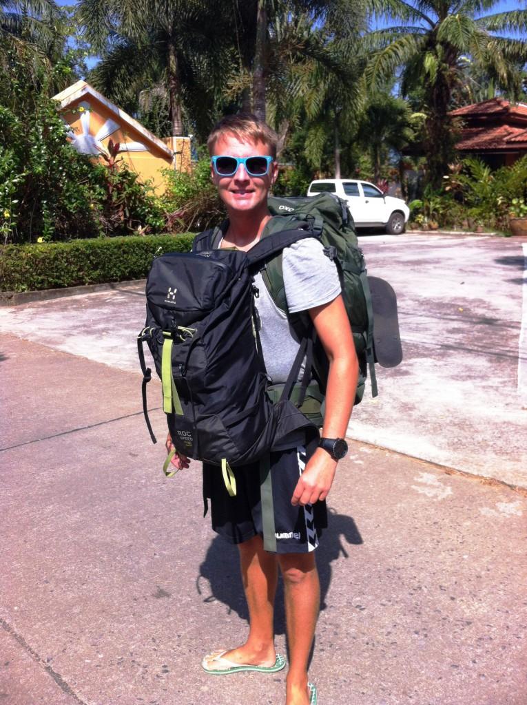 Khao Lak, Thailand, backpacking