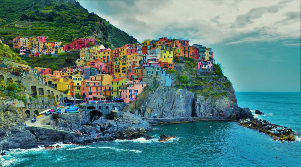 På opdagelse ved Italiens pastelfarvede riviera