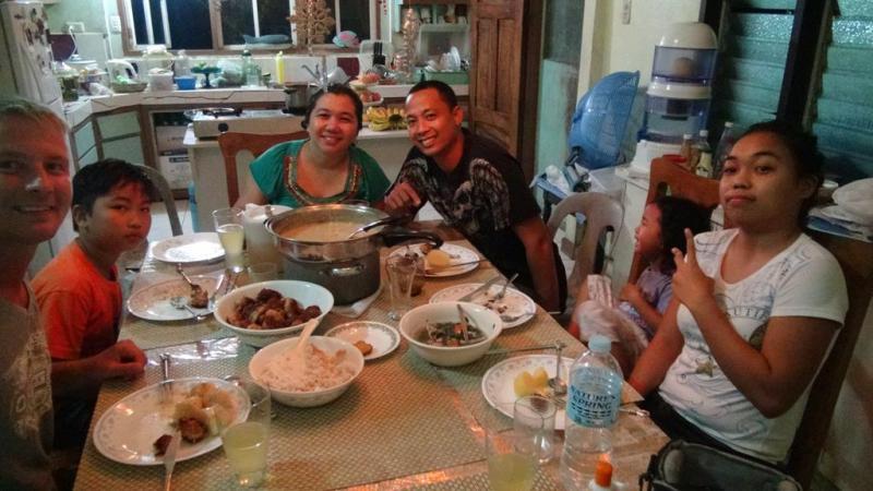 maasin, filippinerne, homestay