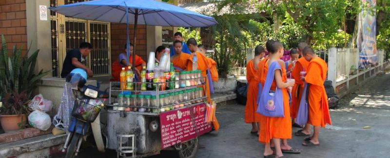 chiang mai, thailand, munke