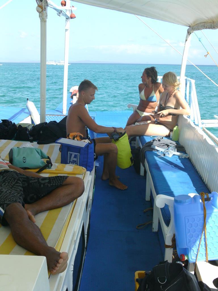 filippinerne, malapasqua, båd