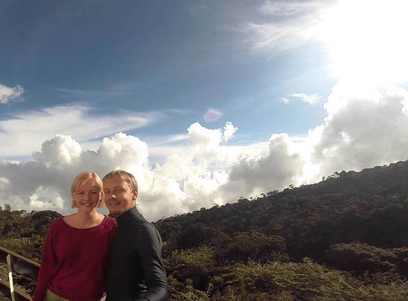 Mt. Kinabalu, Laban Rata, Borneo, Malaysia