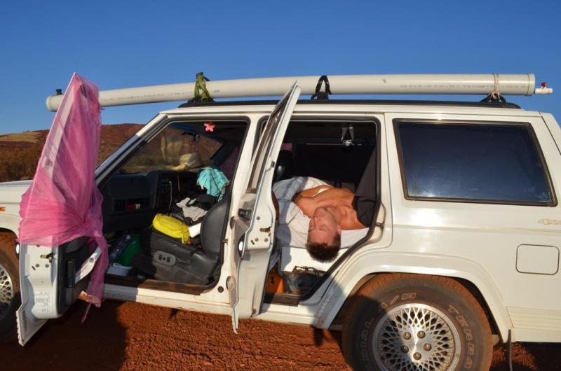 Vores lille transportable hjem!